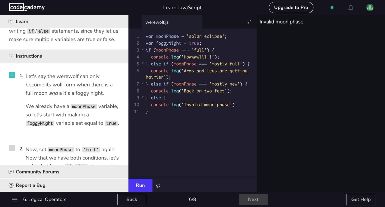 プログラミングスクール おすすめ 初心者 上級者 Code Academy